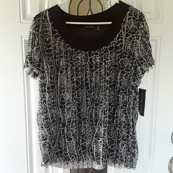 Notations Tops Blouse Nwt Poshmark